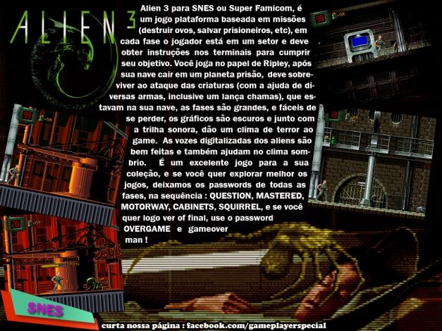 010 Alien 3 SNES